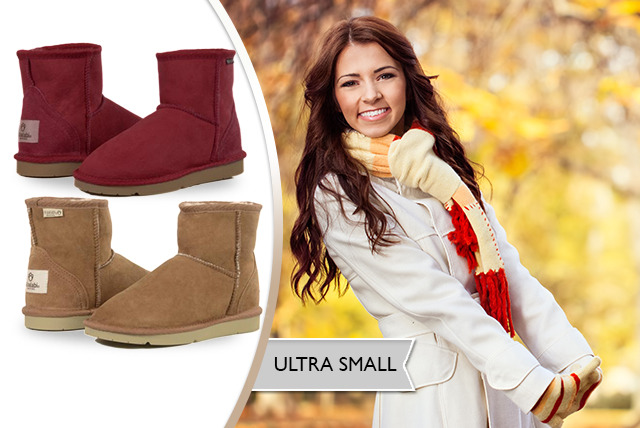 £59 instead of £89.95 (from Koalabi Australia) for a pair of ultra-short sheepskin lined boots, £72 for short or £98 for tall - save up to 34%