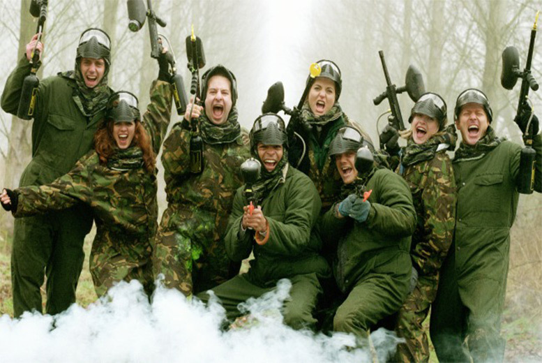 From £5 for paintball for five or 10 players (£9) & light lunch at 100+ locations from Bedlam Paintball – save up to 93%