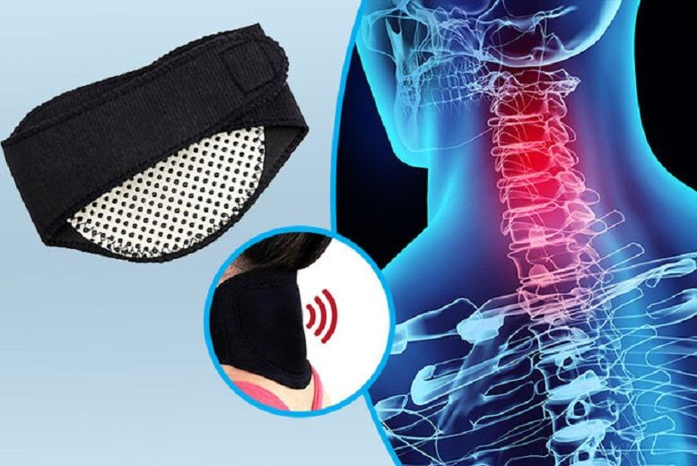 Reusable Self Heating Neck Pad for £3.49