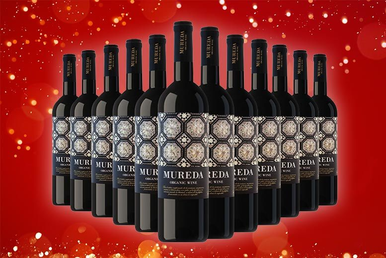 12 'Mureda' Ecological Spanish Wines – Red or White! for £49