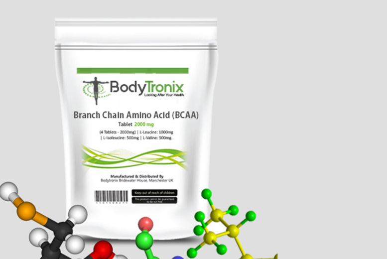 Branch-Chain Amino Acid 2000mg Supplements – 1, 2 or 4mnth* Supply! from £4.99