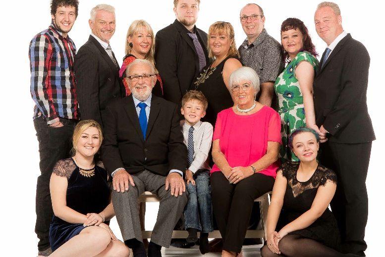 Christmas Family Photoshoot & Prints