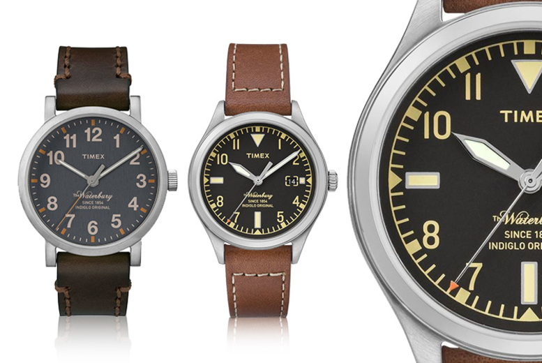 Timex 'Waterbury' Men's Watches - 2 Designs!