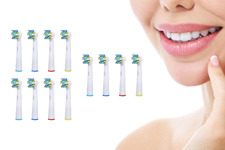 Oral B Compatible Floss Toothbrush Heads – 4 Options! for £4.99