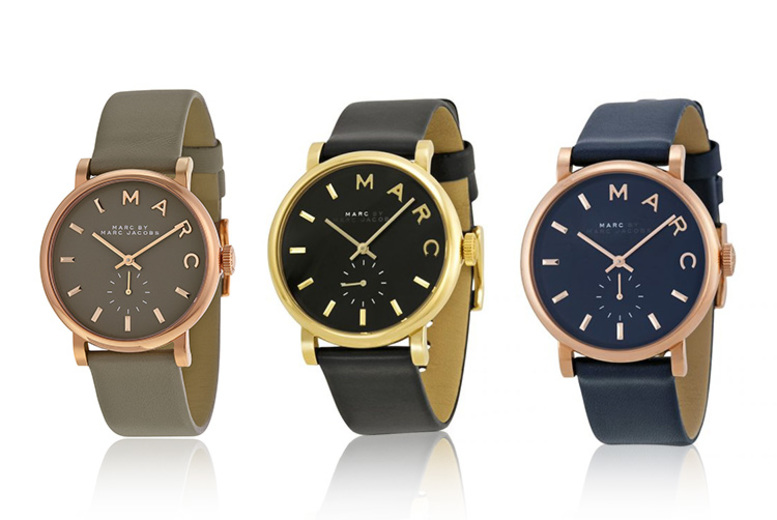 Leather Marc Jacobs Ladies Watch – 3 Designs!