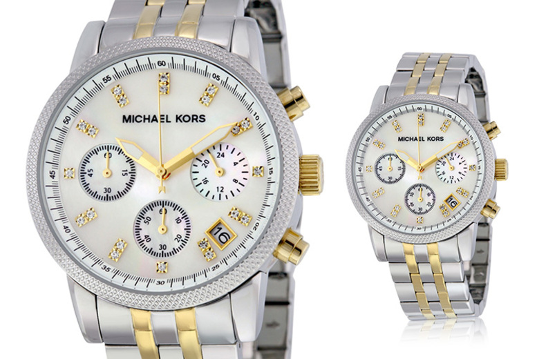 Michael Kors Ladies MK5057 Ritz Two-Tone Watch