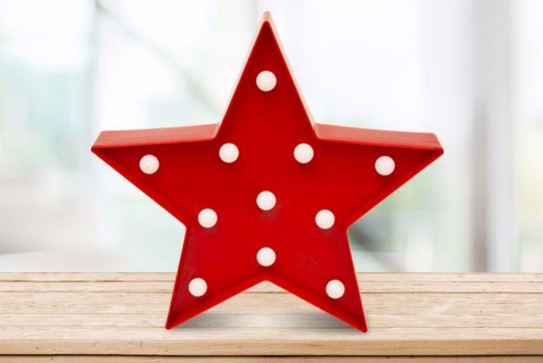 LED Christmas Star Light for £4.99