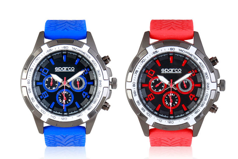 Men's Sparco 'Eddie' Watch - 4 Colours!