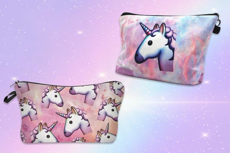 Unicorn Makeup Bag – 2 Designs! for £4.99