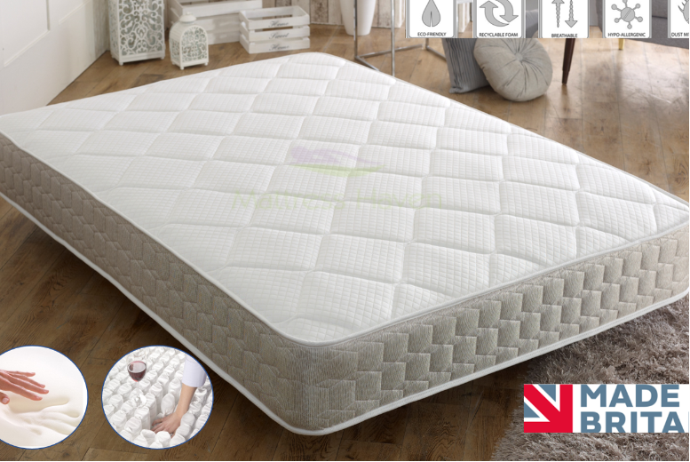 Supreme 3000 Memory Deluxe Pocket Sprung Mattress