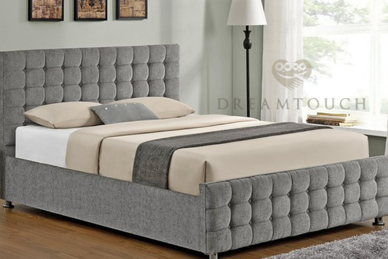 From £169.99 for a Cambian fabric bedstead from Dreamtouch Mattresses LTD – save up to 66%