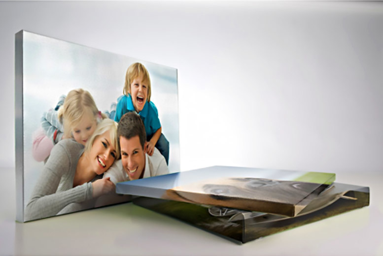 A3 Personalised Photo Canvas 41cm x 39cm