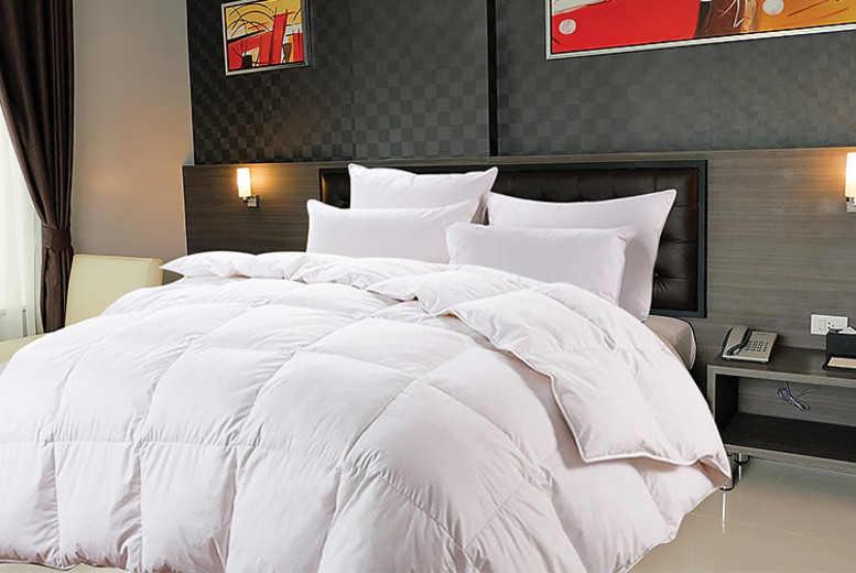 Bounce Back 13.5-Tog Winter Duvet & 4 Pillows – 4 Sizes! from £13.99