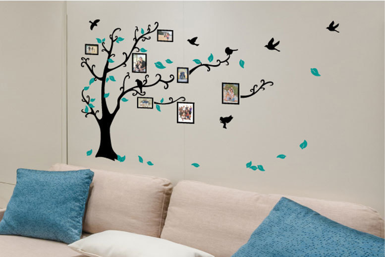 Family Tree Photo Wall Sticker for £1.99