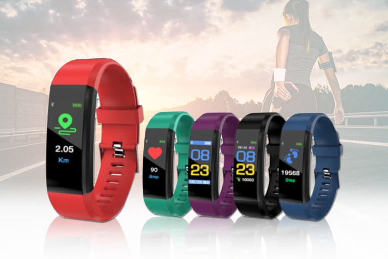 115 PLUS 15in1 Smart Watch & Fitness Tracker  5 Colours!