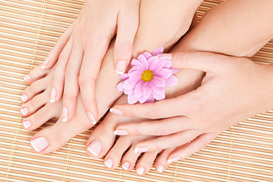 £12 instead of £40 (at Beauty Lounge) for a Shellac French or colour manicure and a luxury spa pedicure – treat yourself and save 70%
