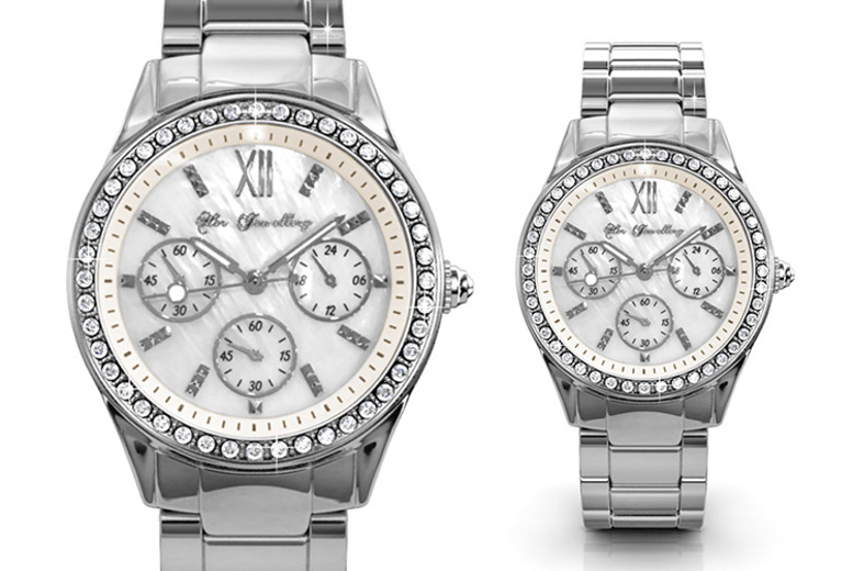 Embellished Watch made with Crystals from Swarovski®