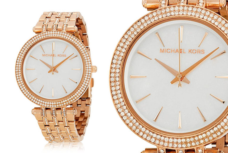 Michael Kors MK3220 Rose-Gold Watch