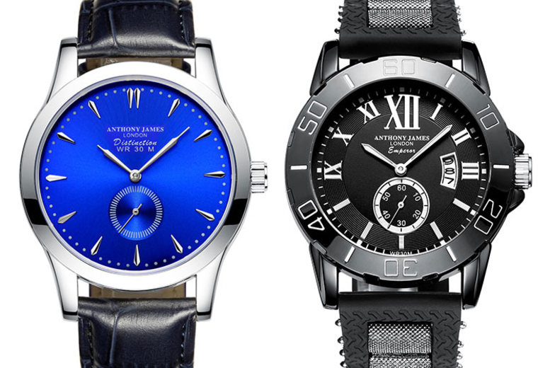 Anthony James Luxury Men's Watches - 4 Designs!