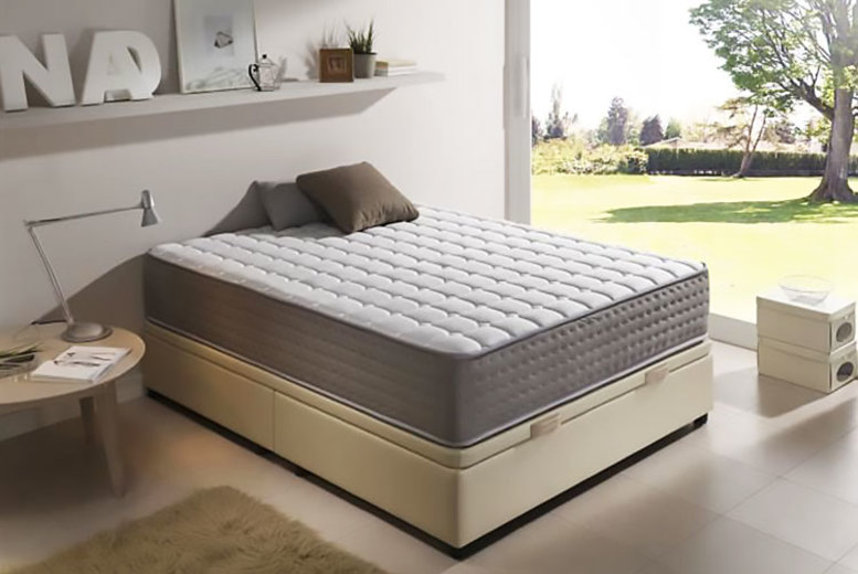 Extra-thick 13-Zone Gel Memory Foam Mattress – 6 Sizes! from £79