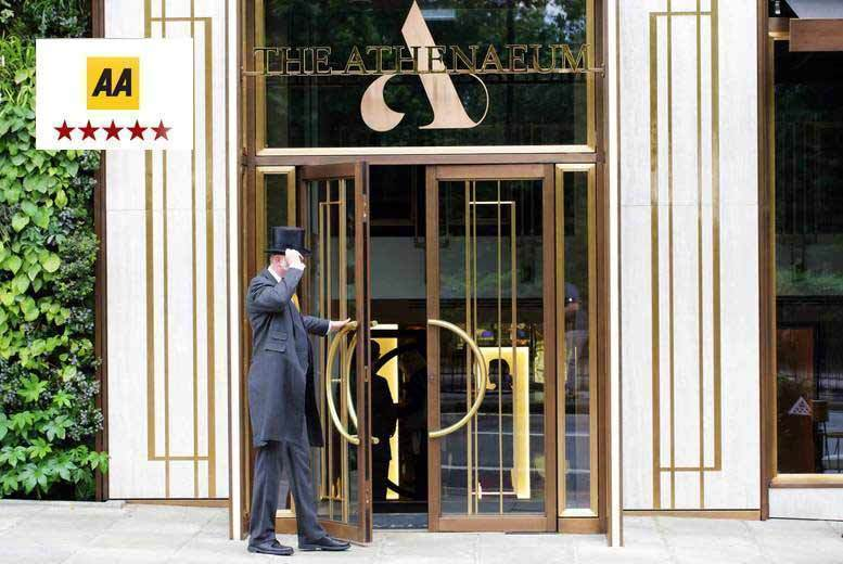 5* Michelin Dining and Spa Package for 2 @ The Athenaeum Spa, Mayfair