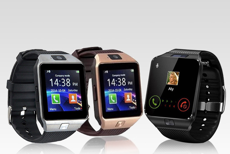 HD Camera Smart Watch - 3 Colours!