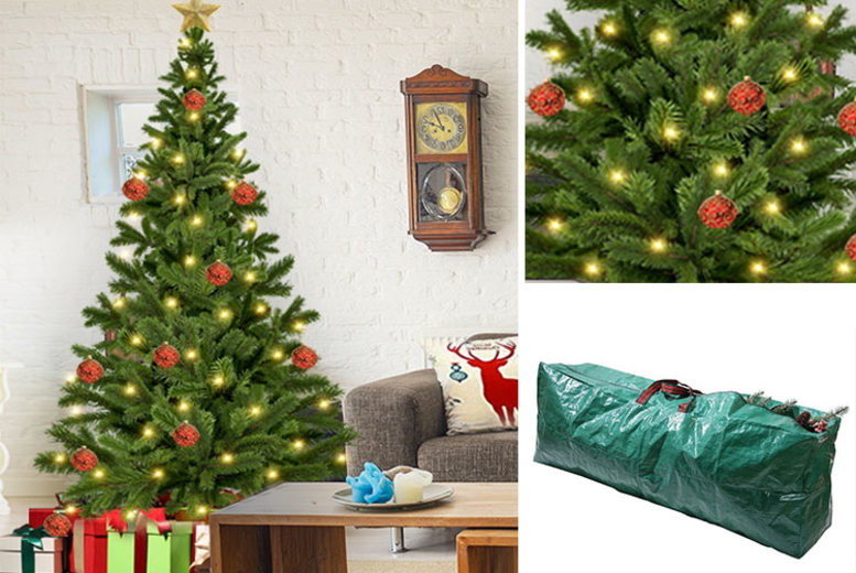 6ft Christmas Tree with Storage Bag for £12.99