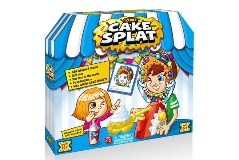 £5.99 instead of £17.73 (from Tobar) for a kids' face splat game – save 66%