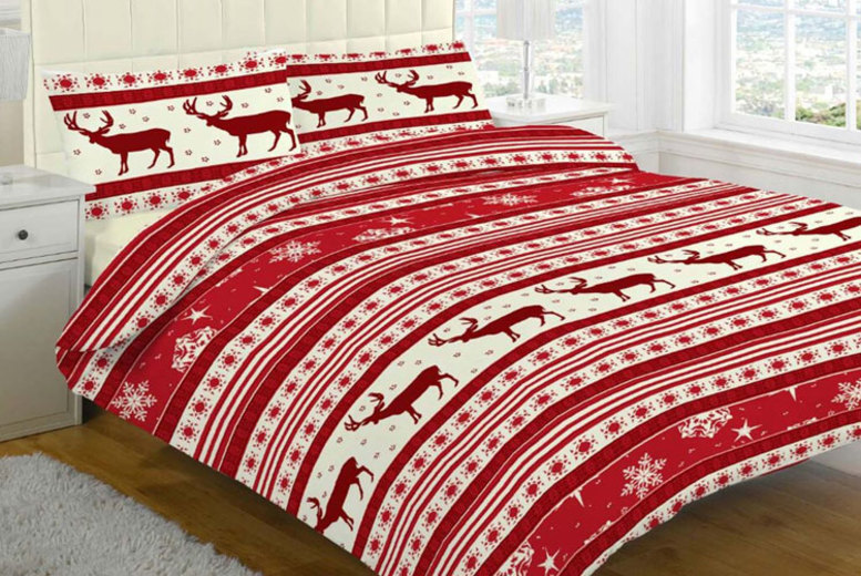 Christmas Duvet Set – 4 Designs & 4 Sizes!