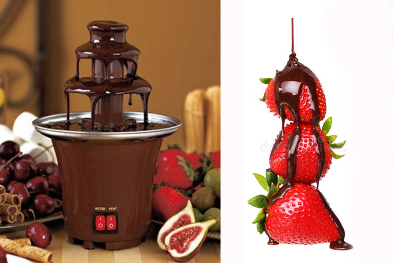 3-Tier Chocolate Fountain Fondue for £12.99