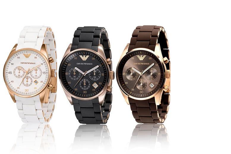 Armani Luxury Designer Women's Watch