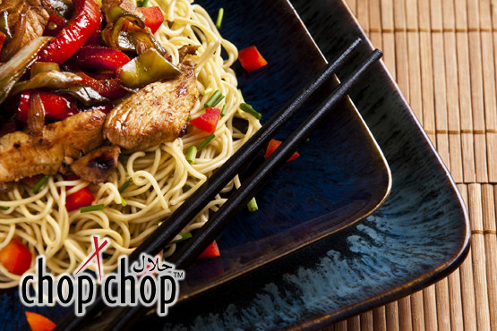 £9.95 instead of £20 (at Chop Chop, Birmingham) for an Asian noodle bar meal for 2 inc. two noodle dishes, two sides + two drinks - save 50%