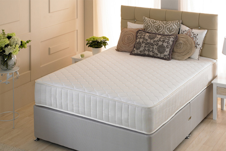 Cool Touch Orthopaedic Sprung Mattress - 5 Sizes!
