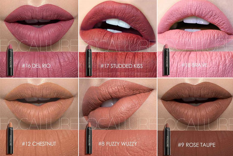 Trio of Satin Matte Lip Crayons from £9.99