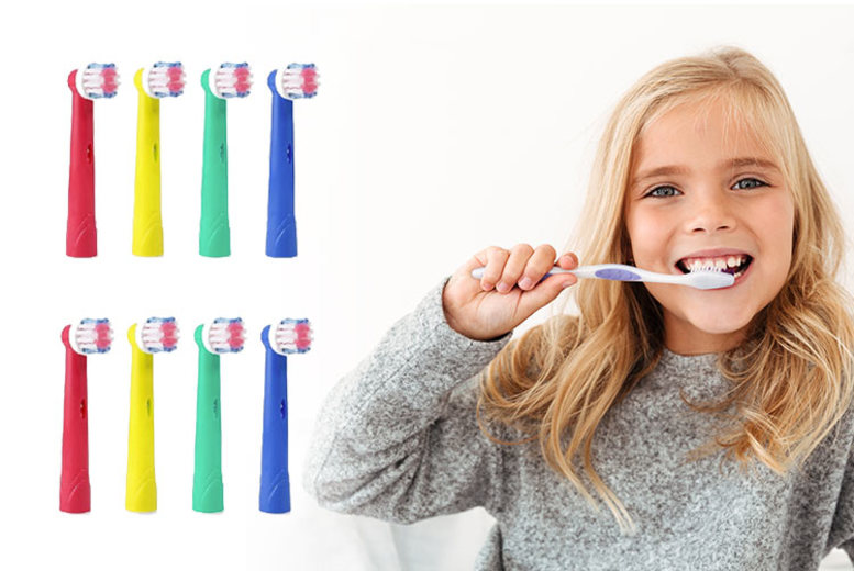 £4.99 (from Ugoago) for a pack of eight Oral-B compatible toothbrush heads, £8.99 for a pack of 16!