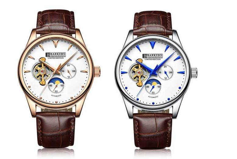 Barkers of Kensington Automatic Mens Watch - 2 Designs!