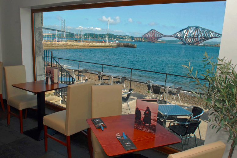 Edinburgh: 3-Course Dining With a View @ The Boathouse from £29