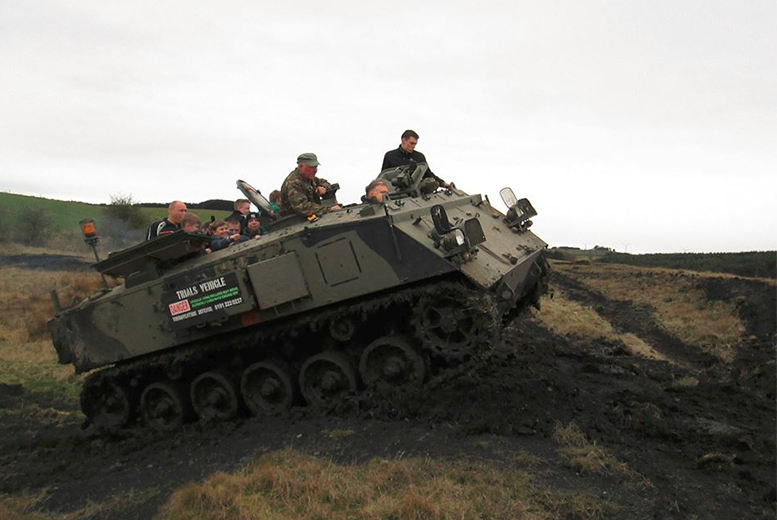 Tank Riding or Driving Experience for 1, 2 or 3