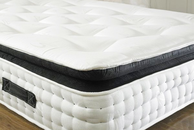 Organic 3000 Orthopaedic Pocket Spring Pillow Top Mattress