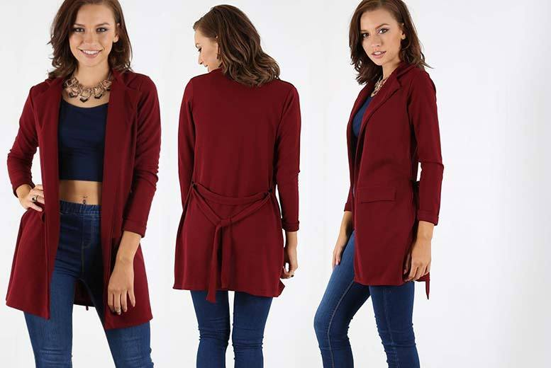 £12 (from Be Jealous) for a belted duster cardigan - save up to 65%