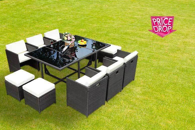£349 instead of £1160  (from Costway) for an 11-piece Rattan furniture set - save 70%