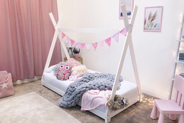 Kids' Tipi Bed Frame – 2 Colours!