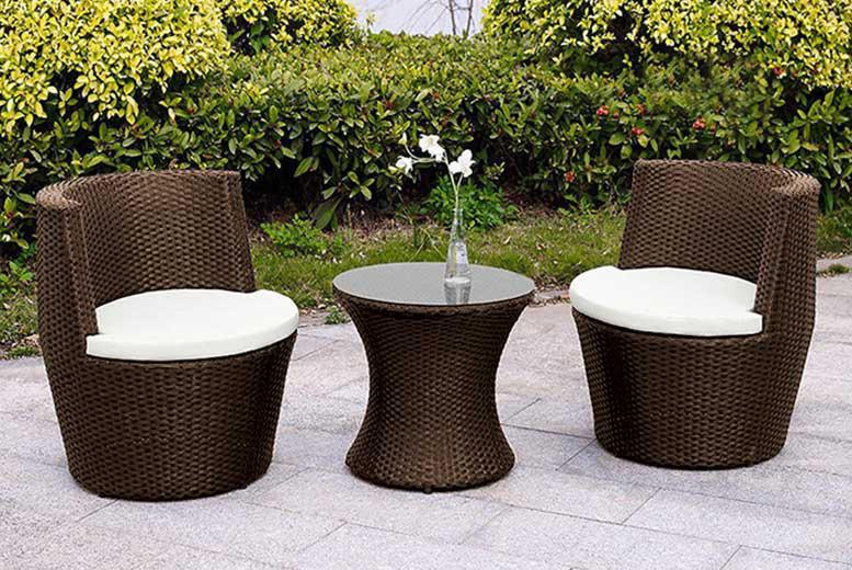 3 Piece Designer Vase Rattan Set – 2 Colours! (£89)