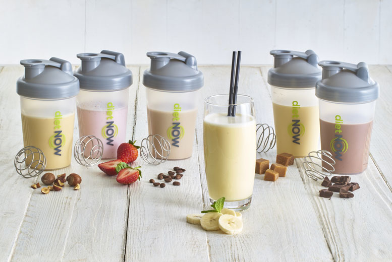 £14.99 (from Diet Now) for a two-week shake pack including a shaker and recipe book, £28.99 for a four-week pack or £39.99 for a six-week pack - save up to 60%