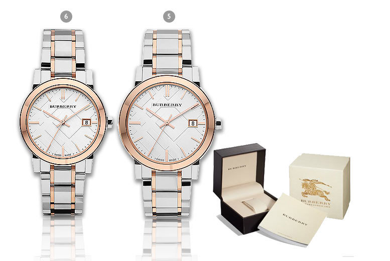 £169 (from Gray Kingdom) for a ladies' Burberry watch, £179 for a men's watch or £340 for a his and hers set - save up to 72%