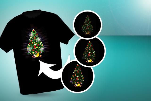 led christmas t shirts shop wowcher