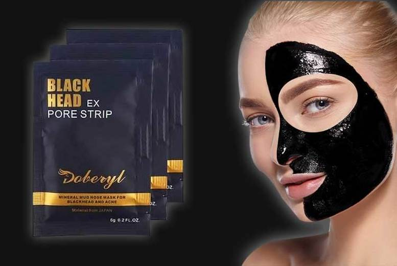 £1 (from Ugoagogo) for 10 blackhead removing peel-off masks