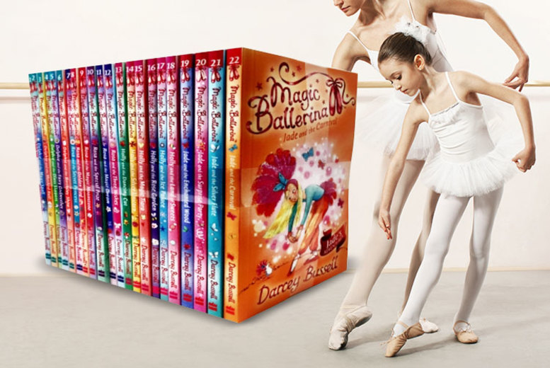 Magic Ballerina 22-Book Collection for £26.99
