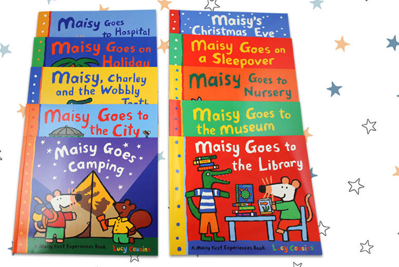 Maisy Mouse Collection – 10 Books! for £15.99