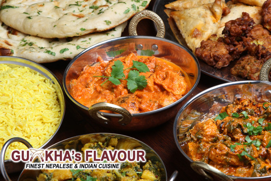 £14 instead of up to £40 for a 2 course Nepalese meal for 2 inc. starters, mains, sides and a glass of wine at Gurkha's Flavour – save up to 65%
